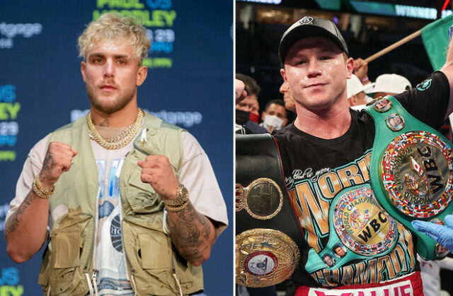 Jake Paul is targeting a future clash with pound-for-pound star Canelo Alvarez Photo Credit: Esther Lin/SHOWTIME