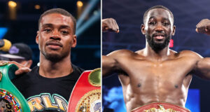 Errol Spence Jr says he remains keen to face Terence Crawford, ahead of his clash with Manny Pacquiao Photo Credit: Ryan Hafey/Premier Boxing Champions/Mikey Wiliams/Top Rank via Getty Images