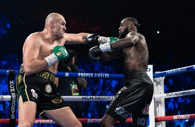 Fury will face Wilder for a third time on October 9th in Las Vegas Photo Credit: Ryan Hafey/Premier Boxing Champions