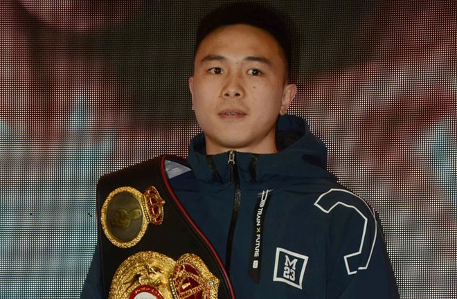 Can makes a third defence of his world title Photo Credit: IC Photo