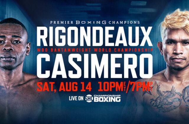 GuillermoRigondeaux vs John RielCasimero clash this weekend in California for the WBO bantamweight world title.