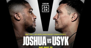 Anthony Joshua's world heavyweight title defence against Oleksandr Usyk will be broadcast in over 170 countries on DAZN