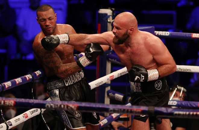 Babic stopped Damian Chambers in Newcastle in June Photo Credit: Mark Robinson/Matchroom Boxing