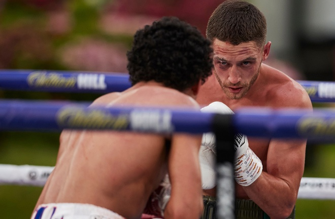 Bellotti returns to Fight Camp a year after defeat to Jordan Gill Photo Credit: Mark Robinson/Matchroom Boxing