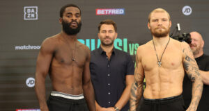 Joshua Buatsi has vowed to take out Ricards Bolotniks if he senses any vulnerability Photo Credit: Mark Robinson/Matchroom Boxing