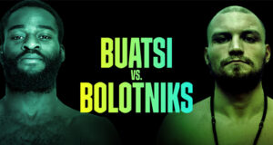 Joshua Buatsi clashes with Ricards Bolotniks at Fight Camp on Saturday
