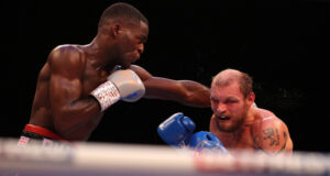 Jushua Buatsi continues to impress beating Ricards Bolotniks with an 11th round KO to claim the WBA light heavyweight title. Photo Credit: Matchroom Boxing.