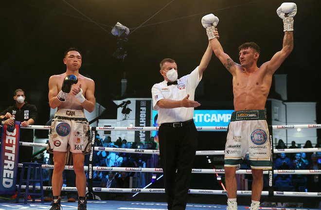 Can has the option for an immediate rematch Photo Credit: Mark Robinson/Matchroom Boxing