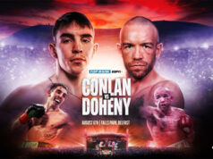 Michael Conlan faces TJ Doheny for the WBA interim featherweight title in Belfast on Friday