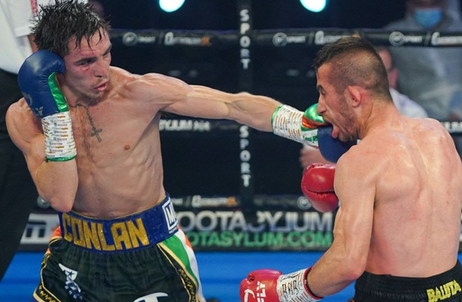 Conlan overcame Ionut Baluta by majority decision in April Photo Credit: Queensberry Promotions