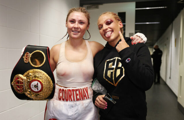 Ebanie Bridges says her defeat to Shannon Courtenay in April was a learning curve Photo Credit: Mark Robinson/Matchroom Boxing