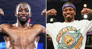 The WBO have set a purse bid for September 2nd for a fight between Terence Crawford and Shawn Porter Photo Credit: Mikey Williams/Top Rank via Getty Images/Sean Michael Ham/TGB Promotions