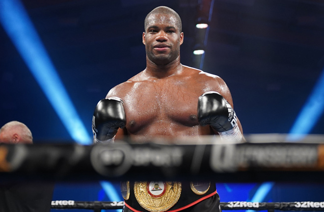 Dubois claimed the WBA interim heavyweight title last time out Photo Credit: Queensberry Promotions