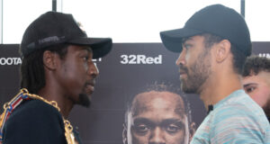 Akeem Ennis Brown and Sam Maxwell have been embroiled in a fiery build-up ahead of their British and Commonwealth super lightweight title showdown Photo Credit: Queensberry Promotions