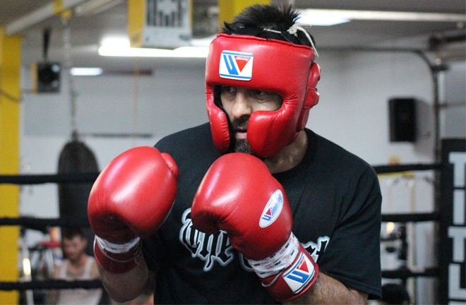 Robert Guerrero training ahead of his clash with Victor Ortiz Photo Credit: Team Guerrero