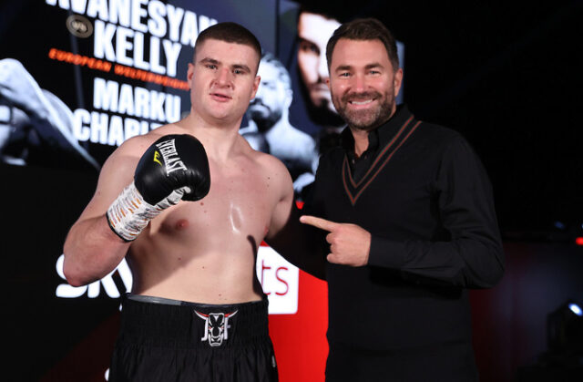 Undefeated heavyweight, Johnny Fisher fights for the third time at Fight Camp on Saturday night Photo Credit: Mark Robinson/Matchroom Boxing