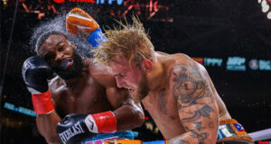 Jake Paul made it four straight professional wins with a split decision victory over Tyron Woodley Photo Credit: Amanda Westcott/SHOWTIME