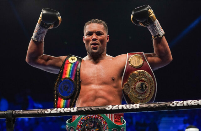 Joe Joyce has extended his contract with Frank Warren's Queensberry Promotions Photo Credit: Queensberry Promotions