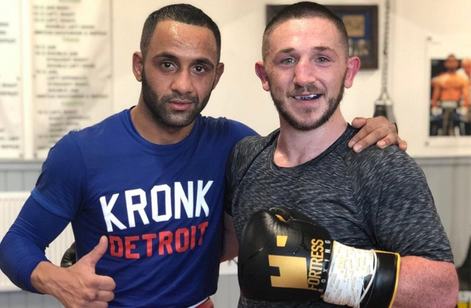 Galahad and Dickens have sparred regularly since their first meeting Photo Credit: @kidgalahad90 Instagram