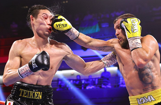 Vasiliy Lomachenko's victory over Masayoshi Nakatani in June was broadcast on Sky Sports Photo Credit: Mikey Williams/Top Rank via Getty Images