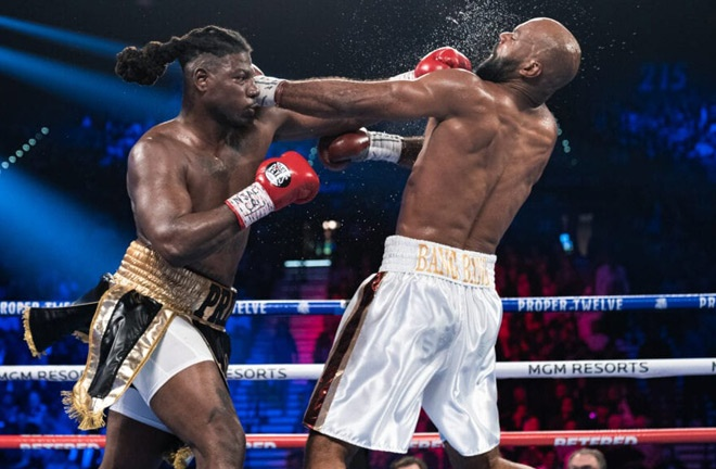 Martin knocked out Gerald Washington in six rounds in February 2020 Photo Credit: Ryan Hafey/Premier Boxing Champions