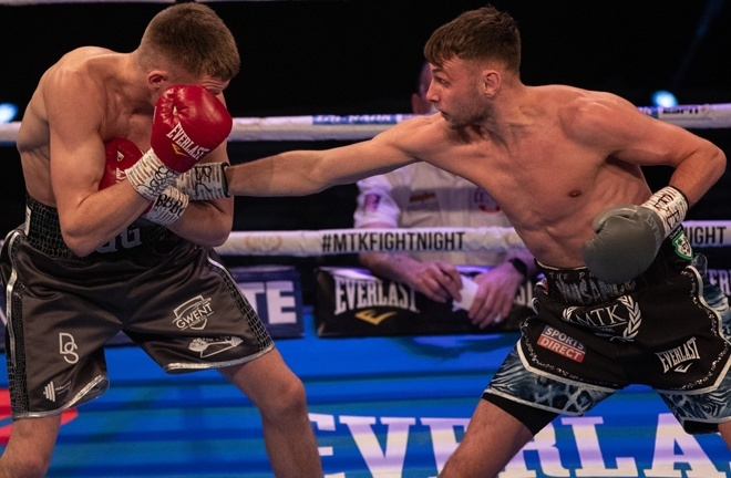 Sean McComb looks to bounce back from his first professional defeat to Gavin Gwynne last time out Photo Credit: Scott Rawsthorne / MTK Global