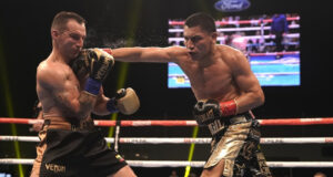 Vergil Ortiz Jr stopped Egidijus Kavaliauskas in eight rounds in Texas on Saturday Photo Credit: Kevin Estrada/Golden Boy Promotions