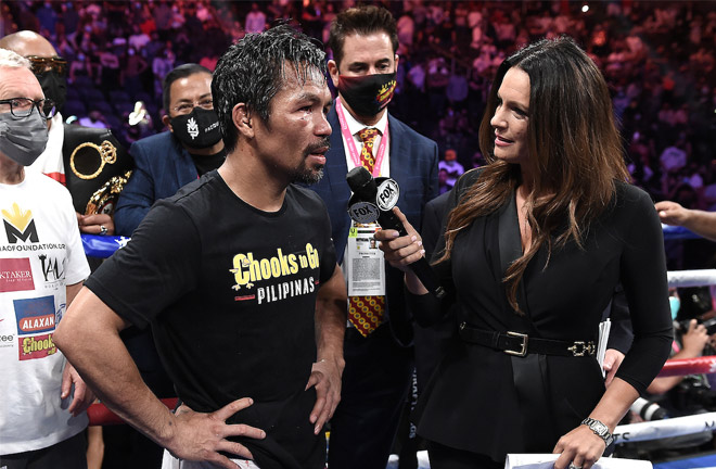 Pacquiao remained coy over whether he will retire Photo Credit: Scott Kirkland/Fox Sports