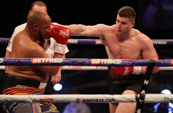 Fisher stopped Phil Williams in May to claim his second professional victory Photo Credit: Mark Robinson/Matchroom Boxing