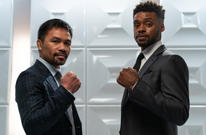 Spence was set to face Pacquiao in a blockbuster showdown in Las Vegas on August 21 Photo Credit: Ryan Hafey / Premier Boxing Champions