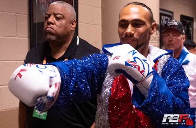 Former world champion, Keith Thurman could be another option for Ugas Photo Credit: Pro Boxing Fans