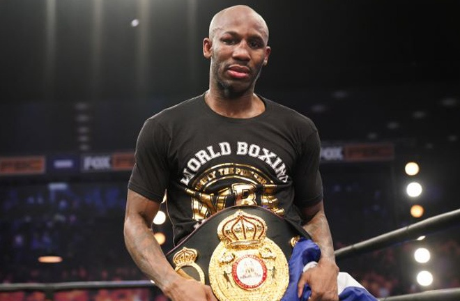 Yordenis Ugas will defend his WBA 'Super' welterweight belt against Pacquiao Photo Credit: Sean Michael Ham/TGB Promotions