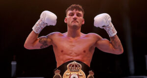 WBA 'Regular' Featherweight world champion, Leigh Wood has signed a promotional deal with Eddie Hearn's Matchroom Boxing Photo Credit: Mark Robinson/Matchroom Boxing