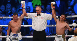 Josh Warrington's rematch was cut short after a technical draw. Photo Credit: Mark Robinson / Matchroom Boxing