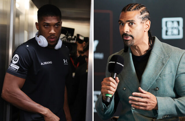 David Haye believes Anthony Joshua can beat Oleksandr Usyk in a rematch if he makes the necessary changes Photo Credit: Mark Robinson/Matchroom Boxing