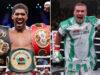 Anthony Joshua and Oleksandr Usyk clash in London on Saturday night Photo Credit: Mark Robinson/Ed Mulholland/Matchroom Boxing