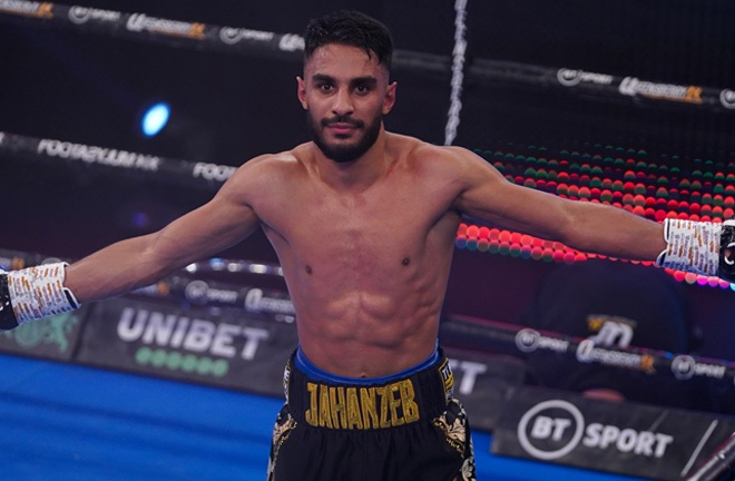 Jahanzeb fights for the first time in almost a year on Friday Photo Credit: Queensberry Promotions
