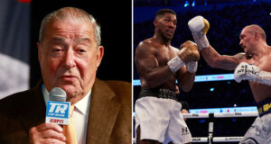 Bob Arum has advised Anthony Joshua to avoid a rematch against Oleksandr Usyk Photo Credit: Mikey Williams/Top Rank/Mark Robinson/Matchroom Boxing