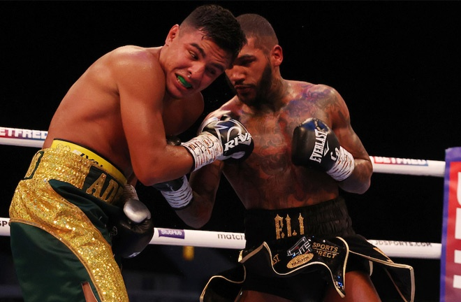 Benn overcame the tricky Granados earlier this month Photo Credit: Mark Robinson/Matchroom Boxing