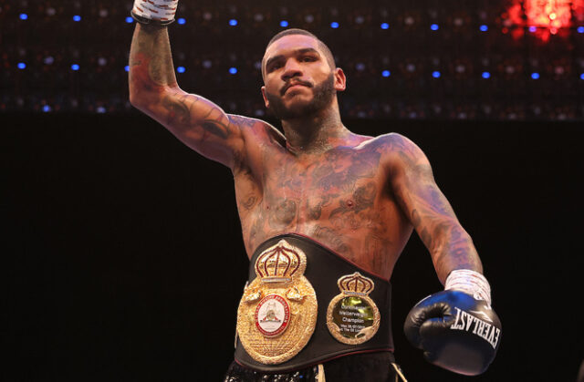 Conor Benn has committed his future to Matchroom Photo Credit: Mark Robinson/Matchroom Boxing