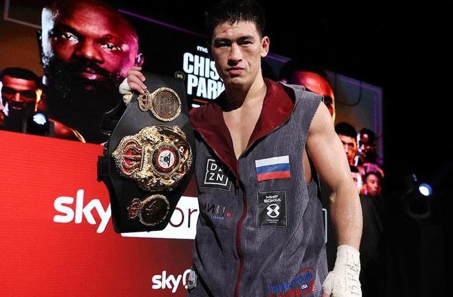 Bivol holds the WBA 'super' light heavyweight world title Photo Credit: Mark Robinson/Matchroom Boxing