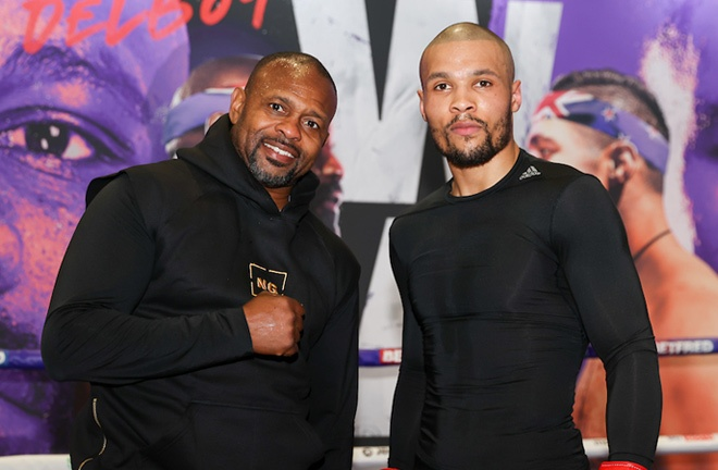 Eubank Jr fights for the second time under the guidance of Roy Jones Jr Photo Credit: Mark Robinson/Matchroom Boxing