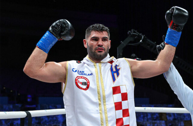Filip Hrgovic extended his unbeaten record with victory over Marko Radonjic on Friday night Photo Credit: Ed Mulholland/Matchroom