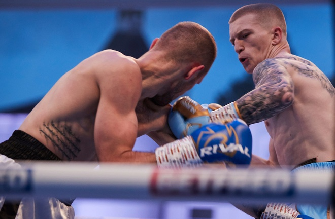 Campbell Hatton claimed his third straight win at Fight Camp in July Photo Credit: Mark Robinson/Matchroom Boxing