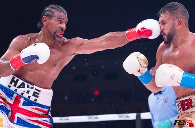David Haye eased past Joe Fournier Photo Credit: Pro Boxing Fans