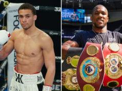 Light heavyweight prospect, Karol Itauma says Anthony Joshua has inspired him Photo Credit: Queensberry Promotions/Mark Robinson/Matchroom Boxing
