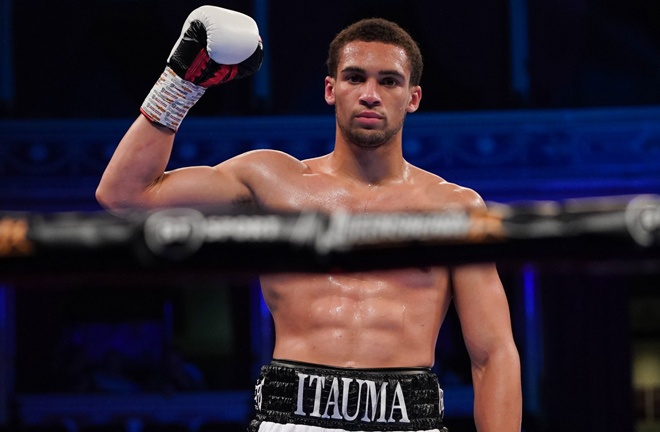 Light heavyweight prospect, Karol Itauma looks to pick up his fourth professional victory Photo Credit: Queensberry Promotions