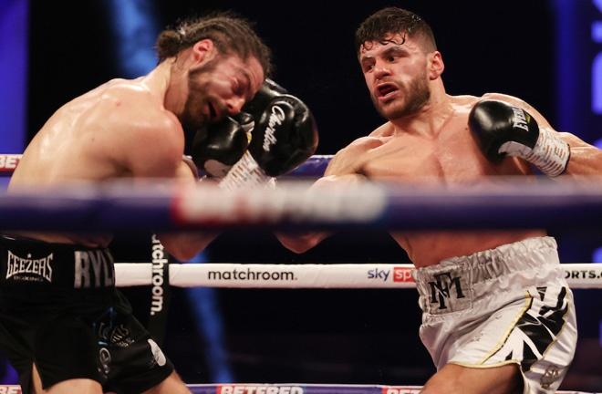 Florian Marku stopped Rylan Charlton in February Photo Credit: Mark Robinson/Matchroom Boxing