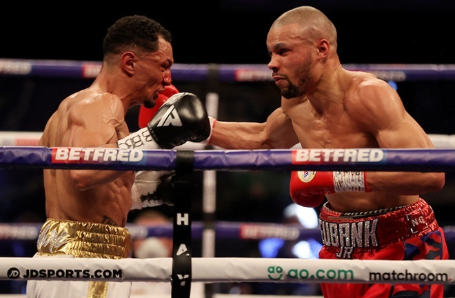 Eubank Jr battled past Marcus Morrison in May Eubank Jr overcame Marcus Morrison in May Photo Credit: Mark Robinson/Matchroom Boxing