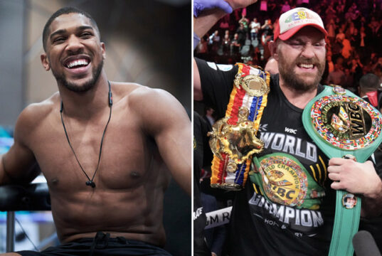 Anthony Joshua has praised Tyson Fury for his victory over Deontay Wilder in their trilogy Photo Credit: Mark Robinson/Matchroom Boxing/Sean Michael Ham/TGB Promotions